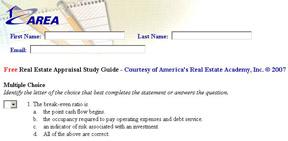 FREE Appraisal State Exam Prep