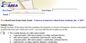 FREE Real Estate Sales Exam Prep